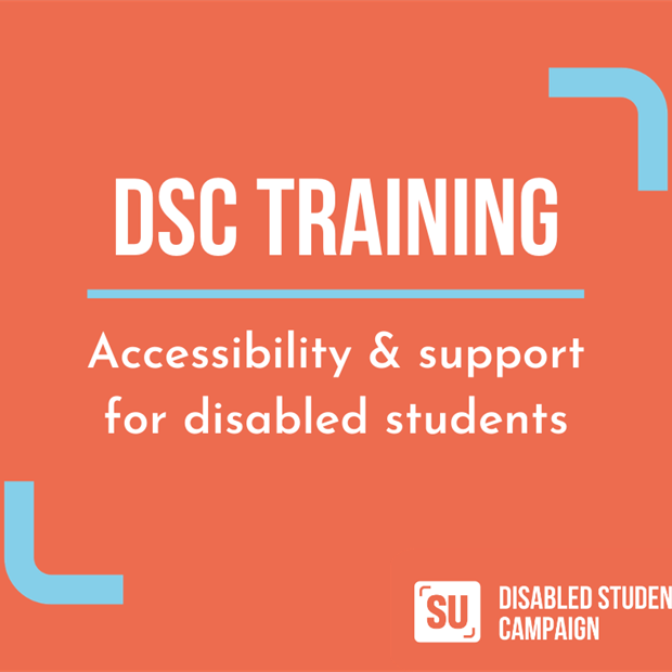 DSC training: accessibility & support