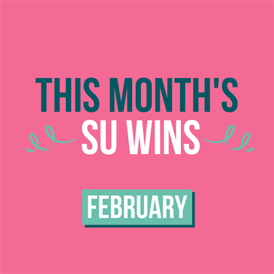 This Months SU Wins. February.