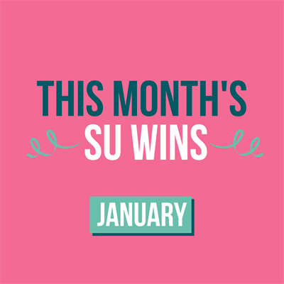 This months SU Wins. January.