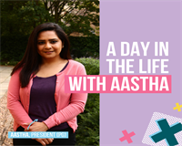 A day in the life with Aastha. Aastha, President (PG)