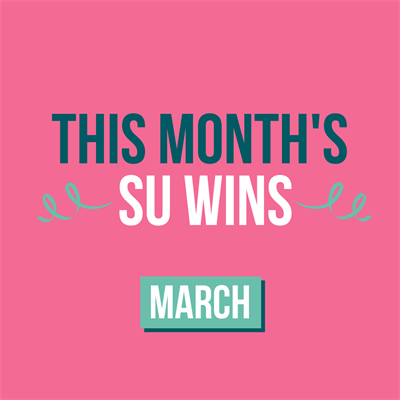 """This month's SU wins. March"""