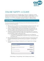 Online Safety: A guide