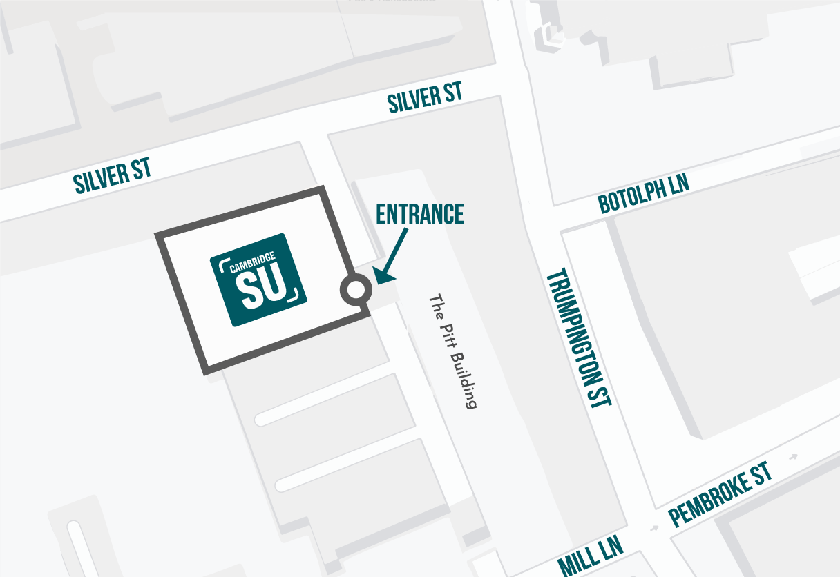 Cambridge SU Location Map